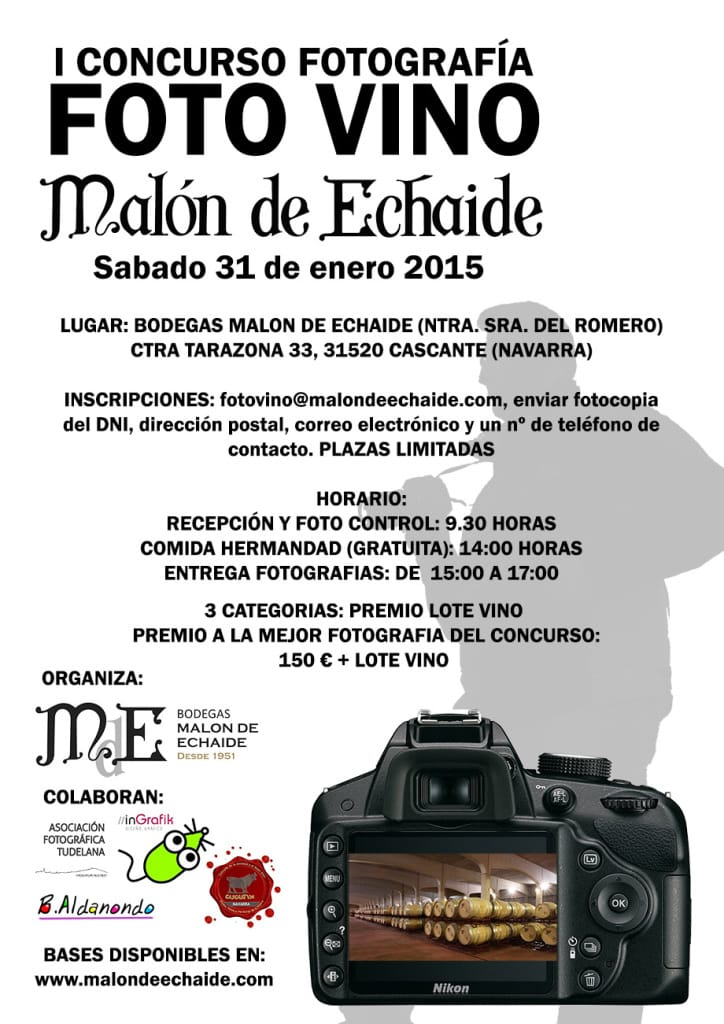 CARTEL CONCURSO FOTO-VINO NOTICIA WEB