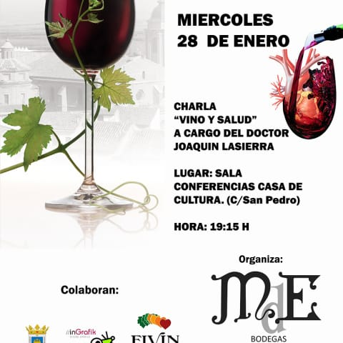 CARTEL VINO Y SALUD - NOTICIA WEB