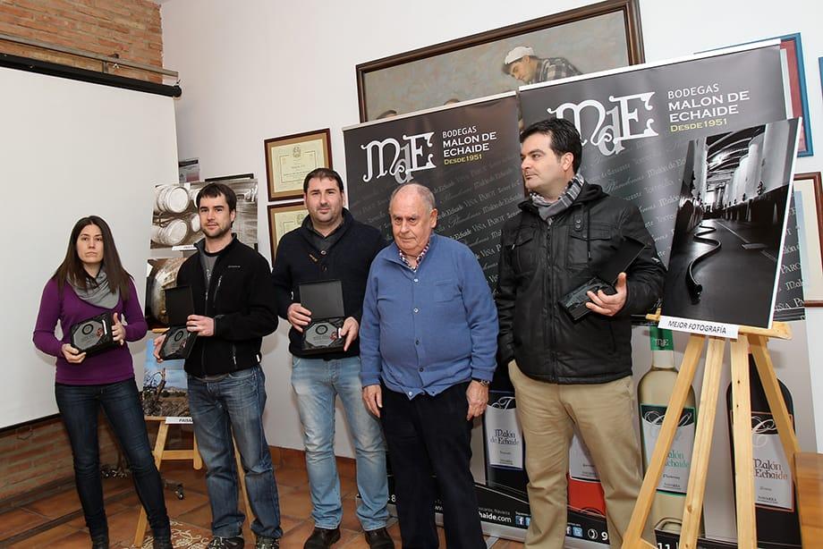 De izda a dcha: Yolanda Goñi, Pablo Gómara, Iñaki Cornago, Julio Guelbenzu y Jose Miguel Jimenez