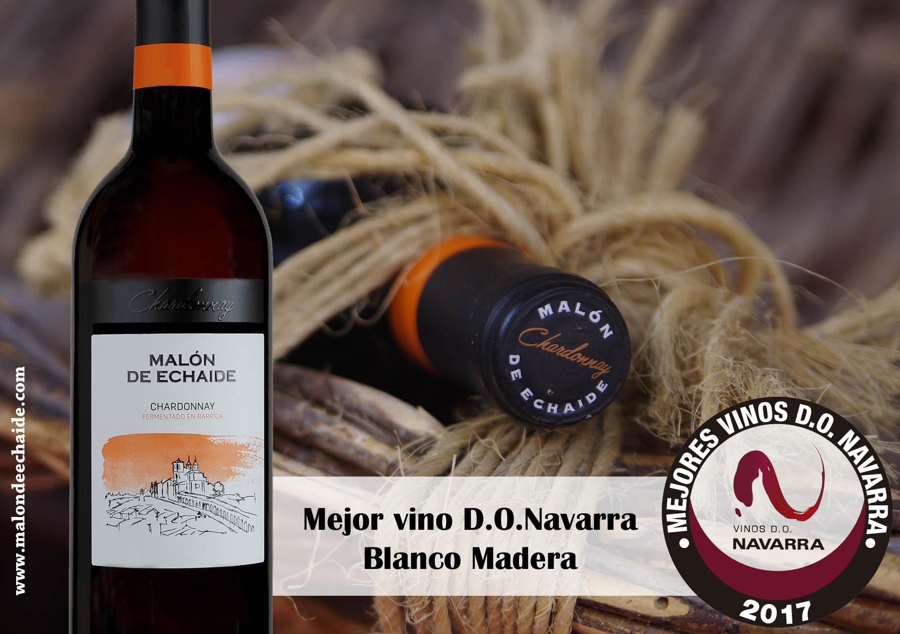 Mejor vino blanco madera do navarra