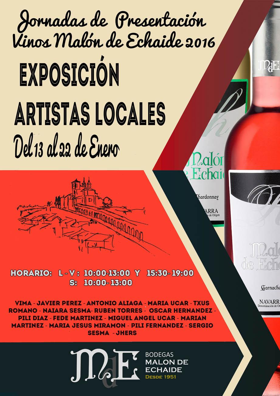 exposición artistas locales 2016