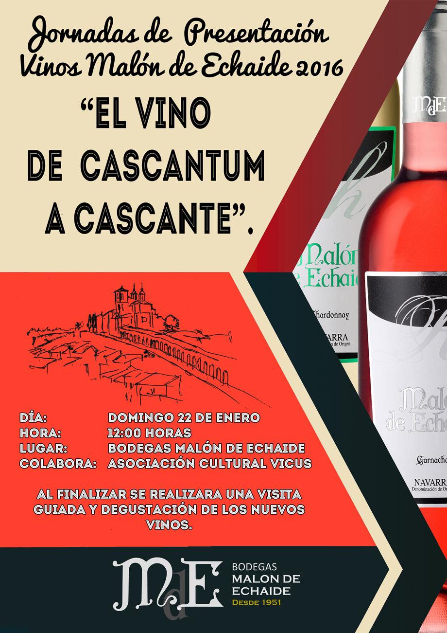 el vino de cascantum a cascante